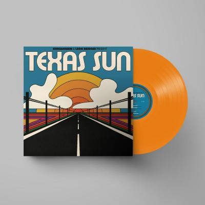 Khruangbin & Leon Bridges - Texas Sun (Mini-Album) (Mini-Album / Orange Translucent Vinyl) (LP)