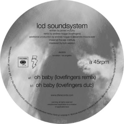 """LCD Soundsystem - Oh Baby (Lovefingers Remix) (12"""")"""