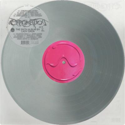 Lady Gaga - Chromatica (Silver Vinyl) (LP)