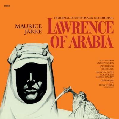 Lawrence of Arabia (OST by Maurice Jarre) (Transparant Red Vinyl) (LP)
