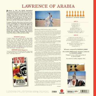 Lawrence of Arabia (OST by Maurice Jarre) (Transparant Red Vinyl) (LP)Lawrence of Arabia (OST by Maurice Jarre) (Transparant Red Vinyl) (LP)