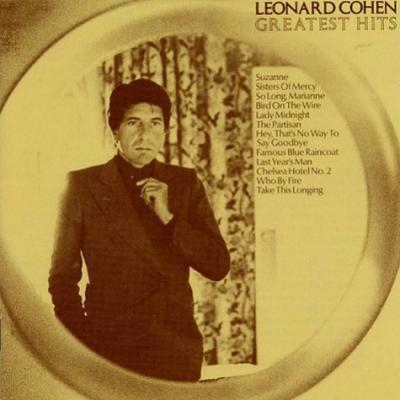 Cohen, Leonard - Greatest Hits (LP) (cover)