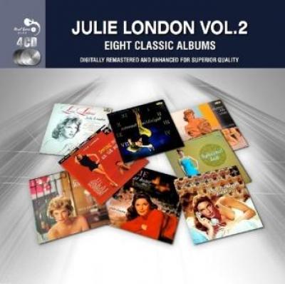 London, Julie - 8 Classic Albums Vol.2 (4CD) (cover)