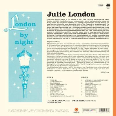 London, Julie - London By Night (Orange Vinyl) (LP)