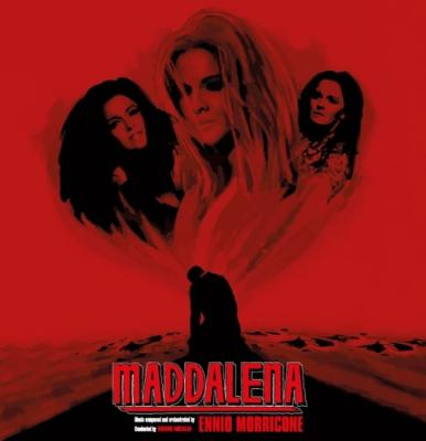 Maddalena (OST by Ennio Morricone) (Clear & Solid Silver Mixed Vinyl)