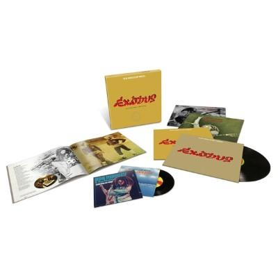 "Marley, Bob & the Wailers - Exodus 40 (Super Deluxe Edition) (BOOK+4LP+2x7"")"
