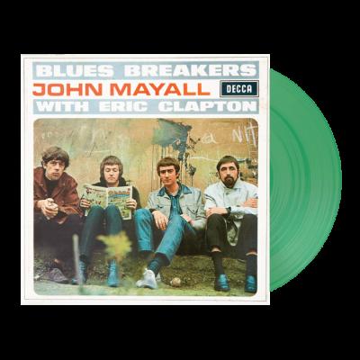 Mayhall, John & The Bluesbreakers - Bluesbreakers With Eric Clapton (Translucent Green Vinyl) (LP)