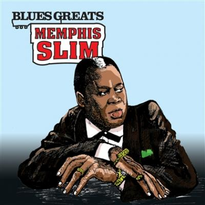 Memphis Slim - Blues Greats (cover)