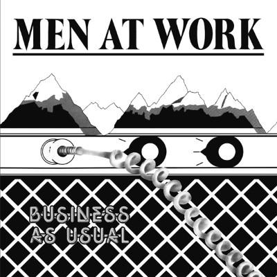 Men At Work - Business As Usual (LP)