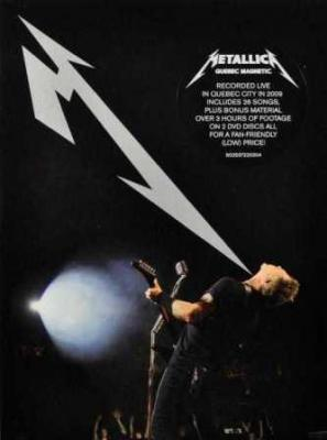 Metallica - Quebec Magnetic (2DVD) (cover)
