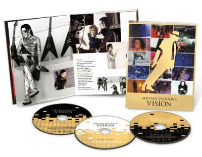Jackson, Michael - Vision Of (Dutch Version) (3DVD) (cover)