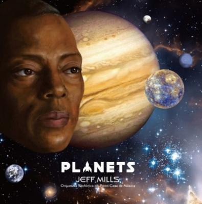 Mills, Jeff - Planets (BluRay+CD)