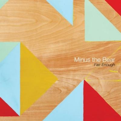 Minus The Bear - Fair Enough (Baby Pink) (LP)