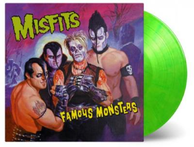 Misfits - Famous Monsters (Green & Yellow Vinyl) (LP)