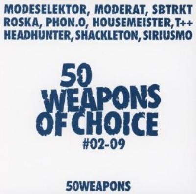 Moderat/Modeselektor - 50 Weapons Of Choice #02-09 (cover)
