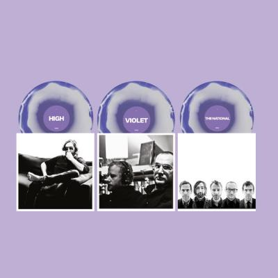 National - High Violet (Marbled Violet & White Vinyl) (3LP)
