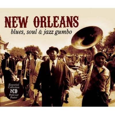 Various - New Orleans: Blues, Jazz & Soul Gumbo (cover)