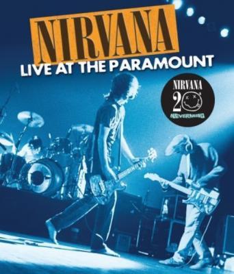 Nirvana - Live At The Paramount (BluRay) (cover)