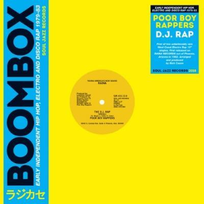 """Poor Boy Rappers - DJ Rap (12"""")"""