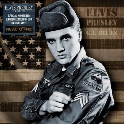 Presley, Elvis - G.I. Blues  (Blue Vinyl) (LP)