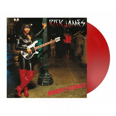 James, Rick - Street Songs (Red Vinyl) (LP)