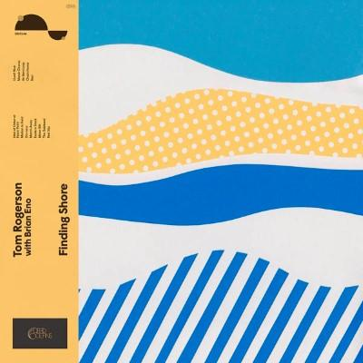 Rogerson, Tom & Brian Eno - Finding Shore (Opaque Blue Vinyl) (LP)