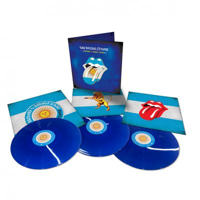 Rolling Stones - Bridges To Buenos Aires (Translucent Blue Vinyl) (3LP)