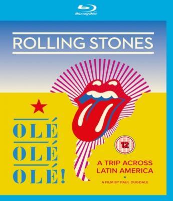 Rolling Stones - Ole Ole Ole: a Trip Across Latin America (BluRay)