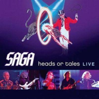 Saga - Heads Or Tales: Live (cover)