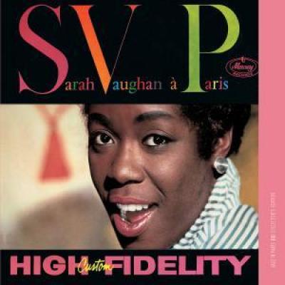 Vaughan, Sarah - A Paris (cover)