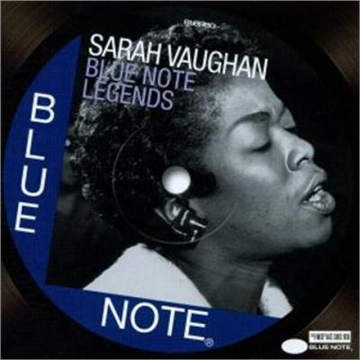 Vaughan, Sarah - Blue Note Legends (cover)
