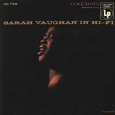 Vaughan, Sarah - Sarah Vaughan In Hi-fi (cover)