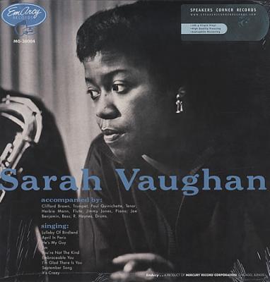 Vaughan, Sarah - Sarah Vaughan (LP) (cover)