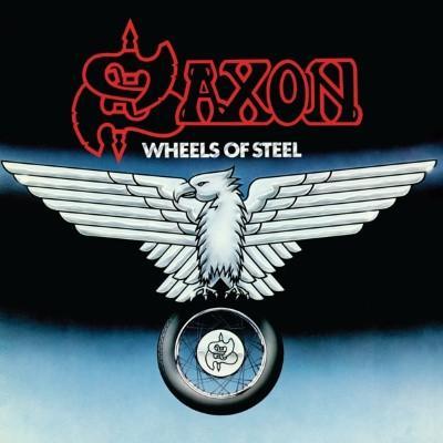 Saxon - Wheels of Steel (Limited) (Blue & White Splatter Vinyl) (LP)