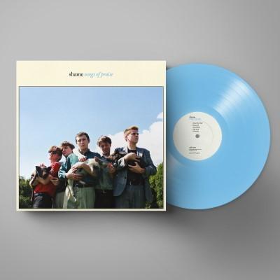 Shame Songs Of Praise Blue Vinyl Lp Bilbo