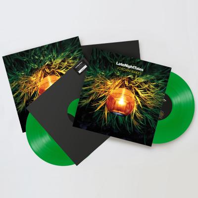 JORDAN RAKEI - LATE NIGHT TALES (2LP) (Green Vinyl) (Ltd.)