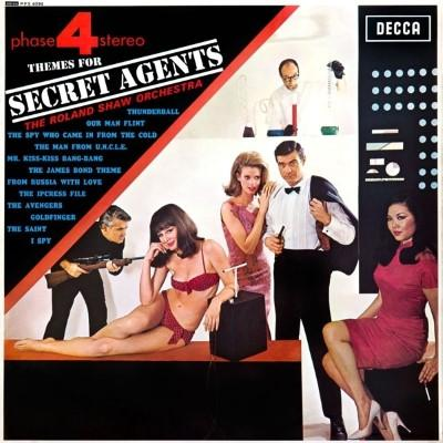 Shaw, Roland & His Orchestra - Themes For Secret Agents (LP)