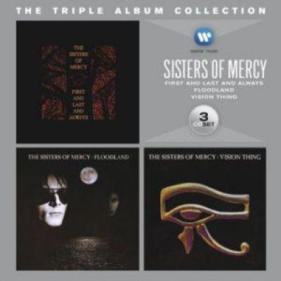 Sisters Of Mercy Triple Album Collection 3cd Bilbo