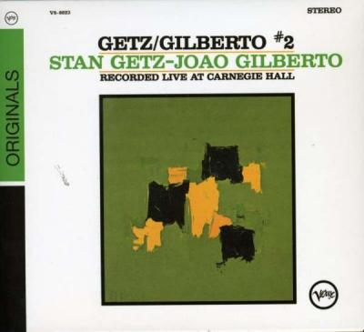 Getz, Stan/Gilberto, Joao - Live At Carnegie Hall 2 (cover)
