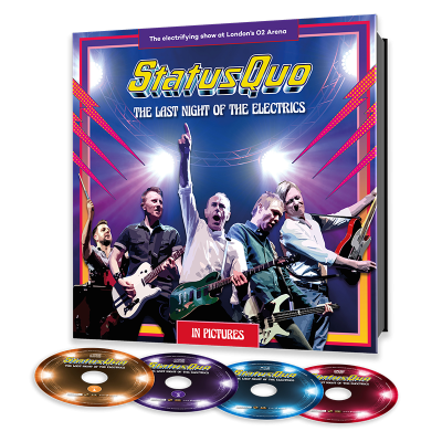 Status Quo - Last Night of the Electrics (2CD+DVD+BluRay)