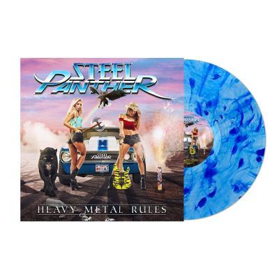 Steel Panther - Heavy Metal Rules (Blue Vinyl) (LP)