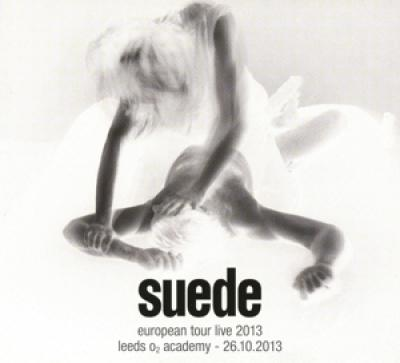 Suede - European Tour Live 2013 (cover)