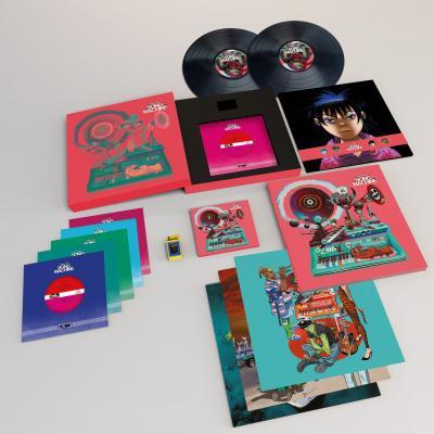 GORILLAZ - SONG MACHINE, SEASON 1 (Deluxe) (2LP+CD)