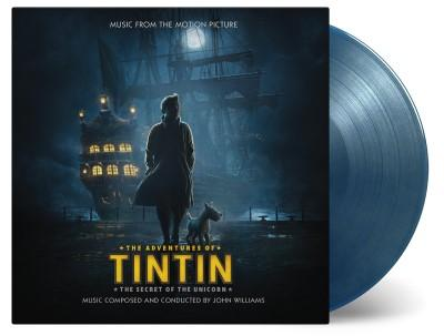 The Adventures Of Tintin (The Secret Of The Unicorn) (OST) (Blue & Gold Vinyl) (2LP)