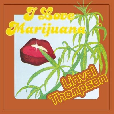 Thompson, Linval - I Love Marijuana (LP)