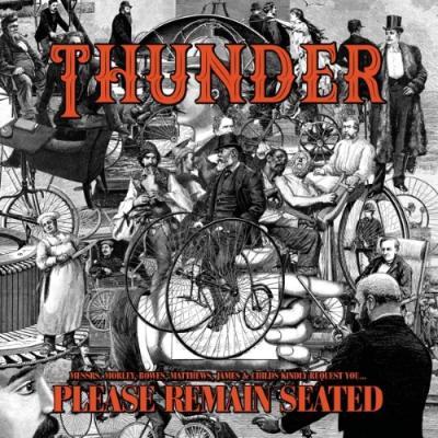 Thunder - Please Remain Seated (Transparent Orange Vinyl) (2LP)