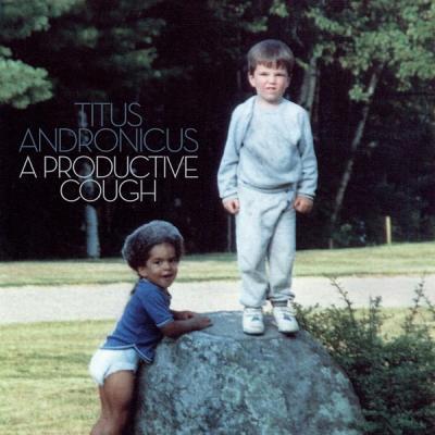 """Titus Andronicus - A Productive Cough (Blue/Grey Vinyl) (LP+7""""+Download)"""