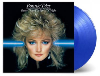 Tyler, Bonnie - Faster Than the Speed of Night (Transparent Blue Vinyl) (LP)