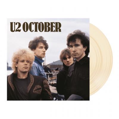 U2 - October (Cream Vinyl) (LP)