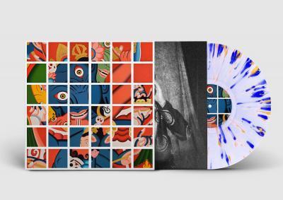 Dijf Sanders - Puja (Clear Splatter Vinyl) (LP)